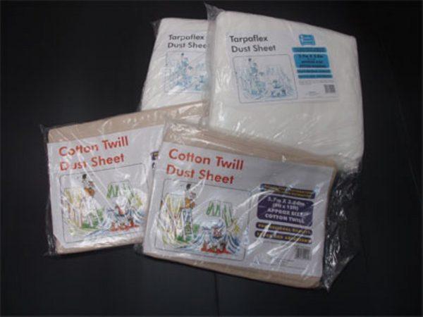 Dust Sheets - Cotton/twill 3.6m x 2.7m -